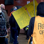 Anti-fracking campaigner Tina Louise Rothery's court case in Preston protest - 8