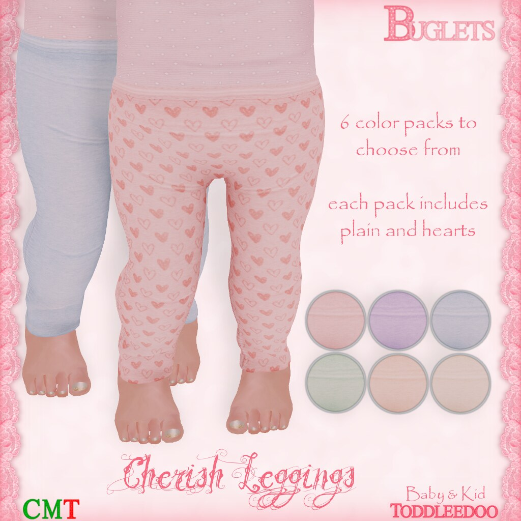 TD Cherish Leggings AD - SecondLifeHub.com