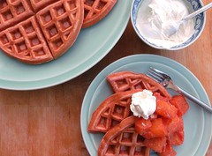 RED VELVET WAFFLES (THE GOOD ONES)