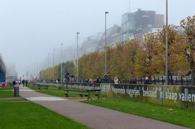 Antwerpen in de mist (03) - Have a nice Weekend!