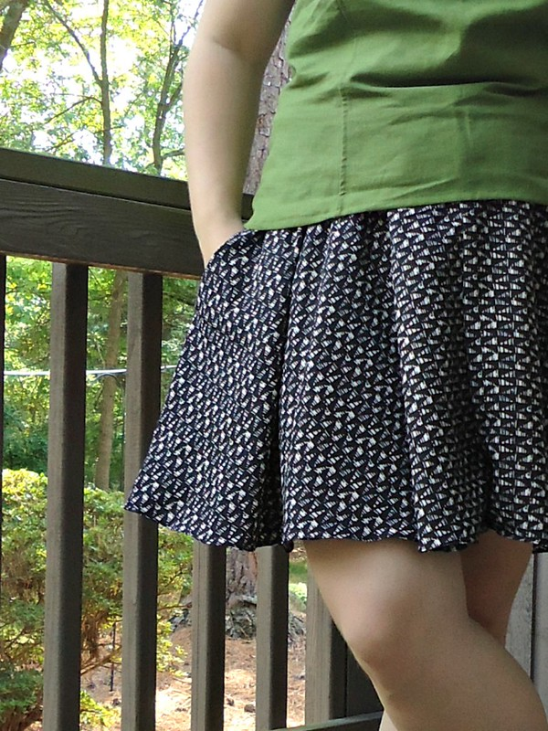 Tania culottes with a pocket