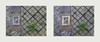 Find the Differences: Last Day of Spring / First Day of Summer (1) 31. May 18:22 / 1. June 18:51 - Latex Gloves in my Golden Frame, Tuberculosis Sanatorium, Mirror Ground Spiegel Grund Lungenheilanstalt Pavillon Annenheim Am Steinhof - Frühling Sommer by hedbavny