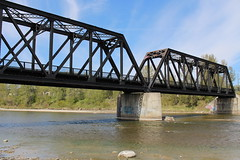 Old CPR Red Deer River Bridge (Red Deer, Alberta)