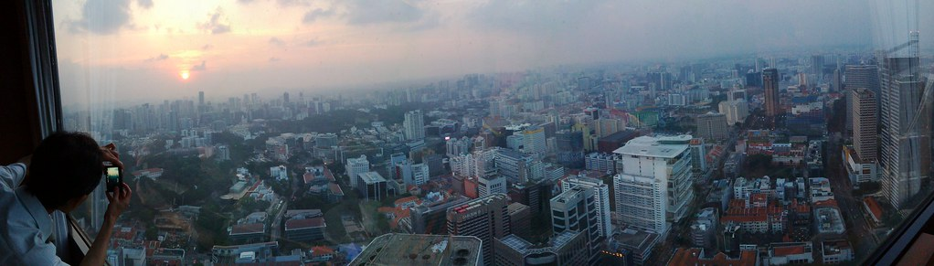 Panorama at level 69 | at the sony rx100 iv launch event in