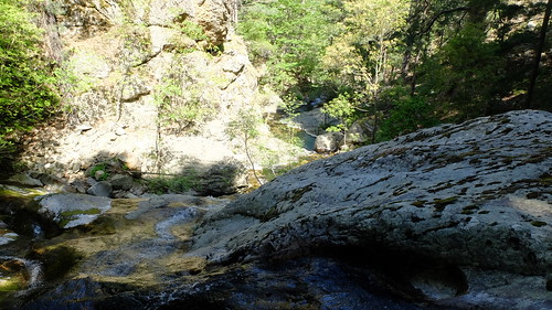 La cascade sur plan incliné