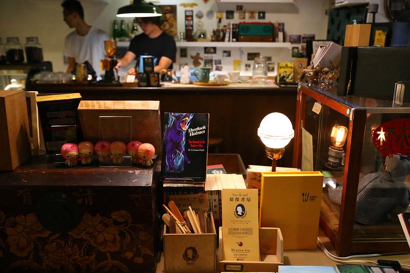 Ink,Murder,偵探書屋,咖啡館︱喝咖啡 @陳小可的吃喝玩樂