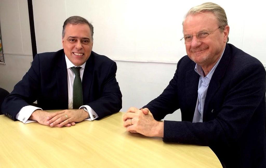 06 07 2015 - Paulo Abi-Ackel e Marcio Lacerda, prefeito de BH