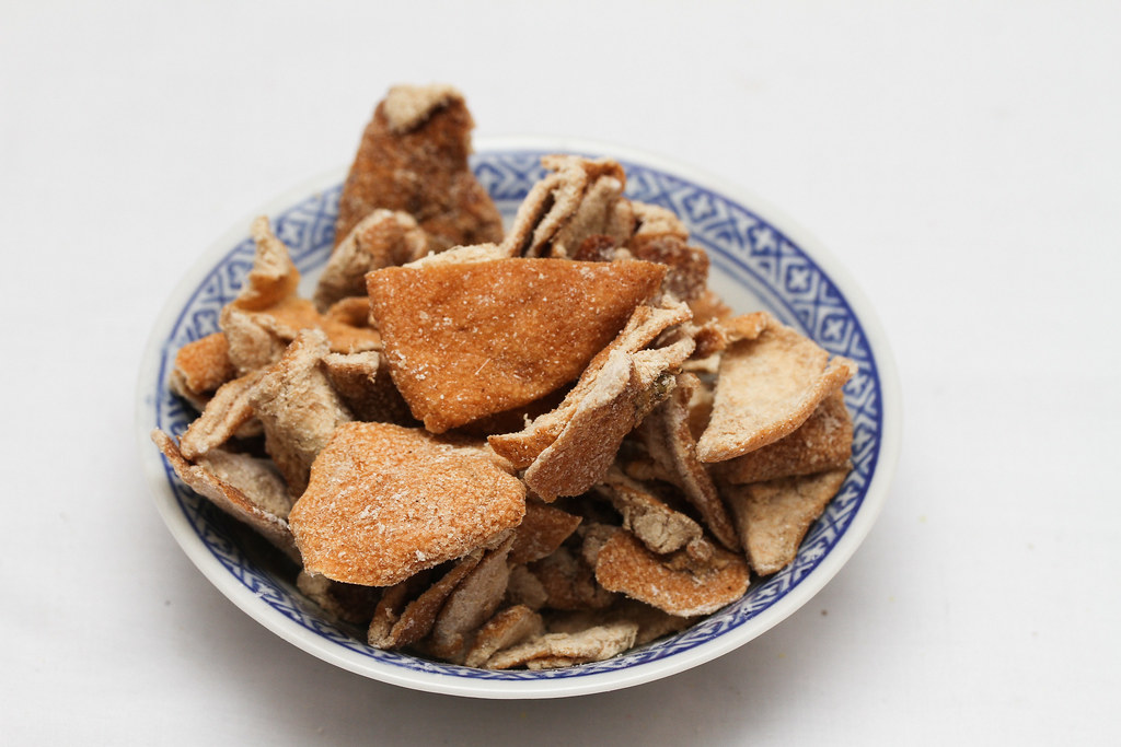 50 Childhood Snacks Singaporeans Love: Orange peel