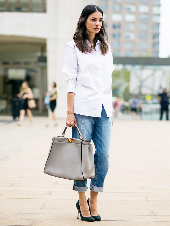 White Shirt Street Style Inspiration10