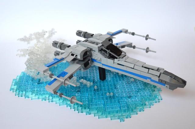 X-wing, by StarWarsKev, on Flickr