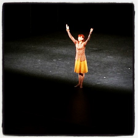Sylvie Guillem on her farewell tour.  Astonishing and beautiful #legend #finalbow #lifeinprogress #breathtaking