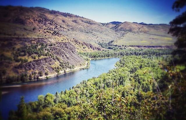#SnakeRiver #SwanValley #Idaho #Latergram