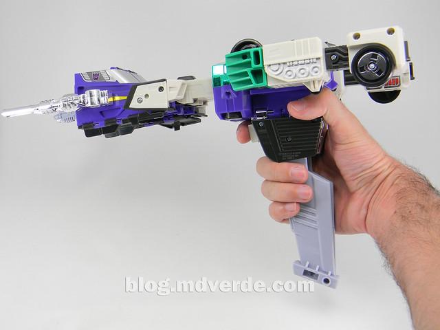 Transformers Sixshot G1 Reissue - Transformers Asia - modo arma