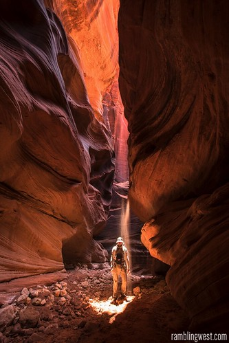 Playing with Light..., Buckskin Gulch image