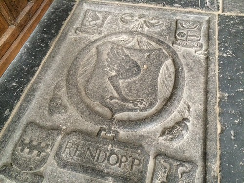 Rendorp Coat of Arms, Oude Kerk, Amsterdam