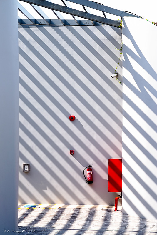 Still Life: Fire Corner, Alarm, Extinguisher, Hose