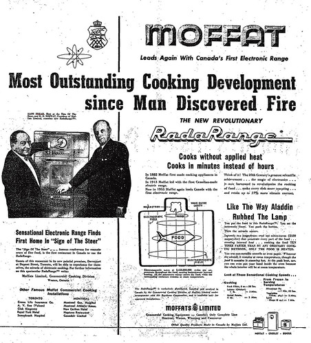 Vintage Ad: Moffat has the Most Outstanding Cooking Development since Man Discovered Fire