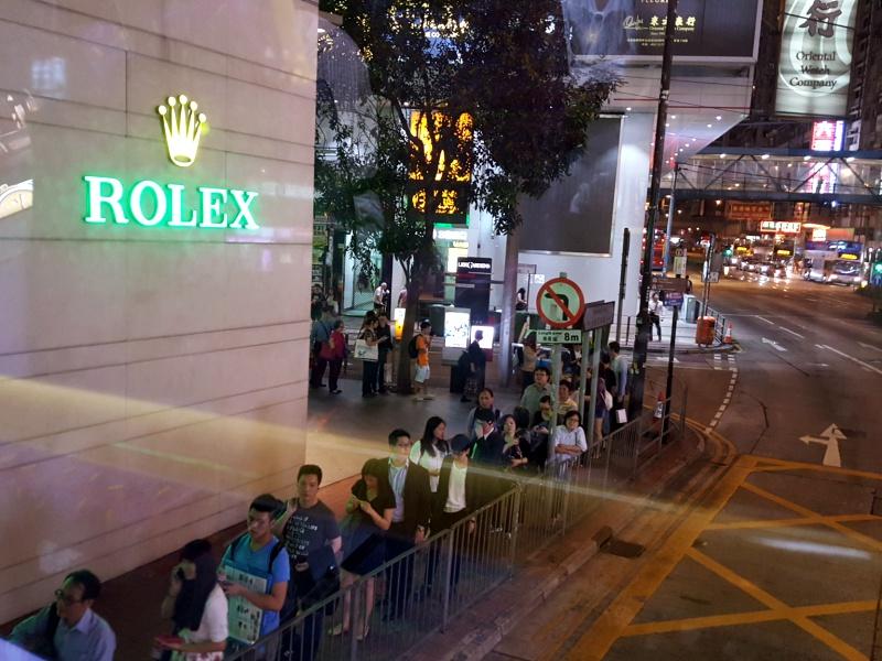 Hong Kong Rolex store