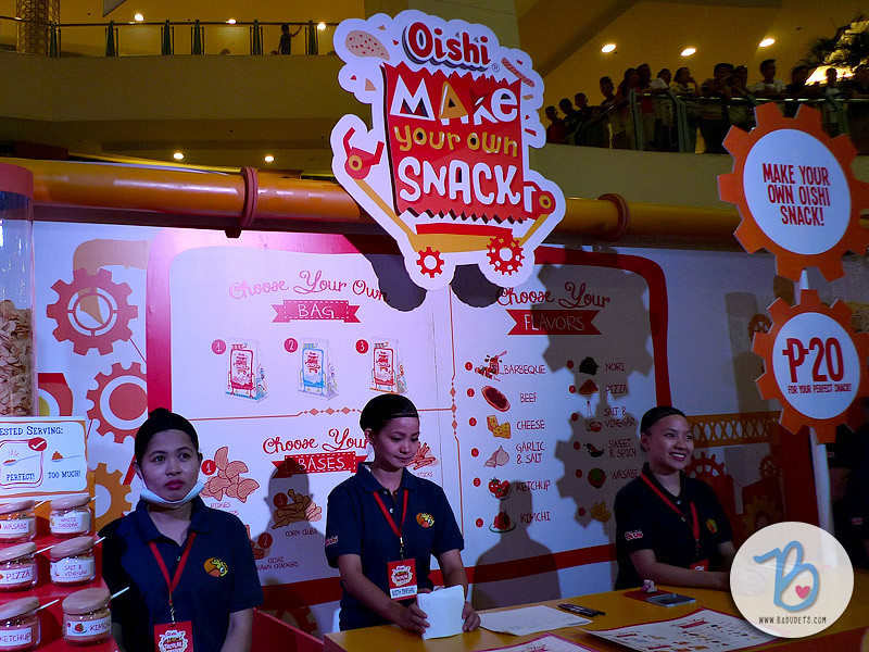 oishi snacktacular 2015 make your own snack