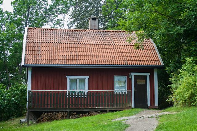 Red hut Erikso, Vaxholm