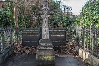 IRA MEMORIAL IN BALLSBRIDGE [UNVEILED BY EAMON De VALERA IN MAY 1973]-124171