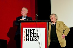 K. Schippers and Kees Hin after a remembrance for the painter Jan Roeland