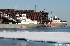 End of the Shipping Season, Marquette (1/14/17)
