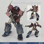 threeA G1 經典版 PSC系列:柯博文 Transformers Generation One (TFG1) Premium Scale Collectible Series:Optimus Prime