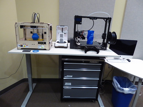 3d printers in the studio - Anythink Brighton