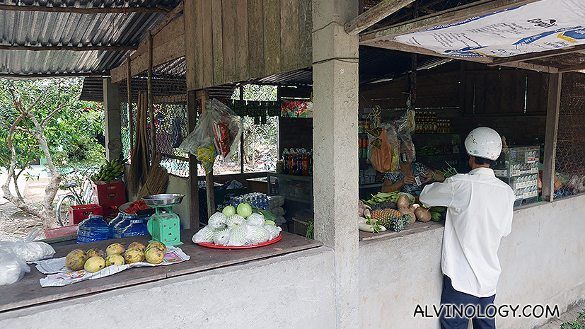 Small village provision shop