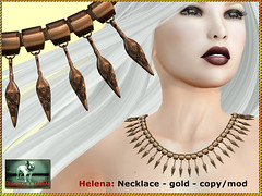 Bliensen - Helena - necklace - gold