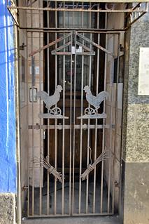 Metal Gate Village Curry House Tradeston Glasgow James