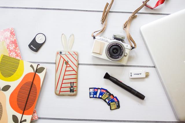 My blogging kit tips tricks lighting & cameras