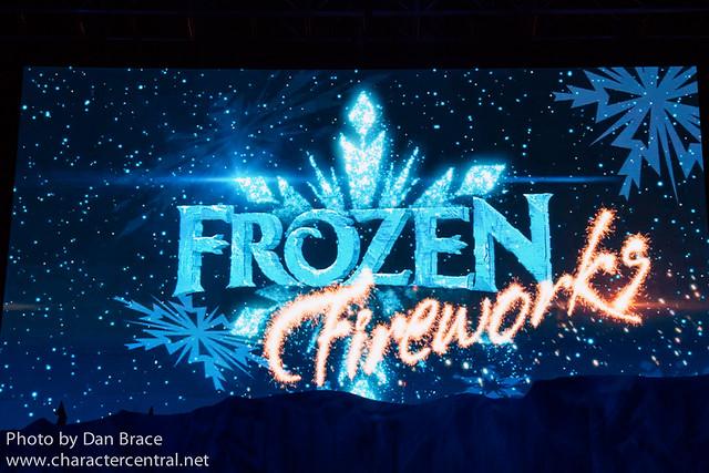 """Frozen"" Fireworks Spectacular"