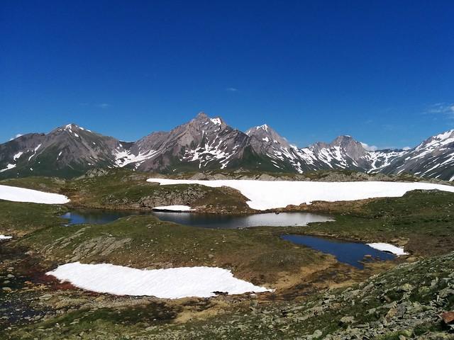 Herrliches Bergpanorama von den Napfseen aus