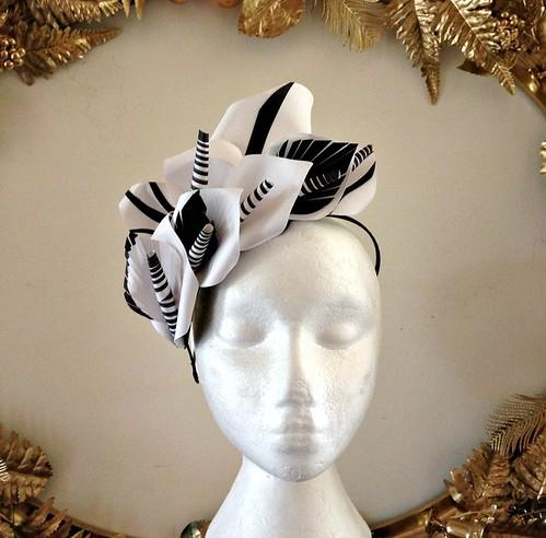 Curl Paper Calla Lilies Hat