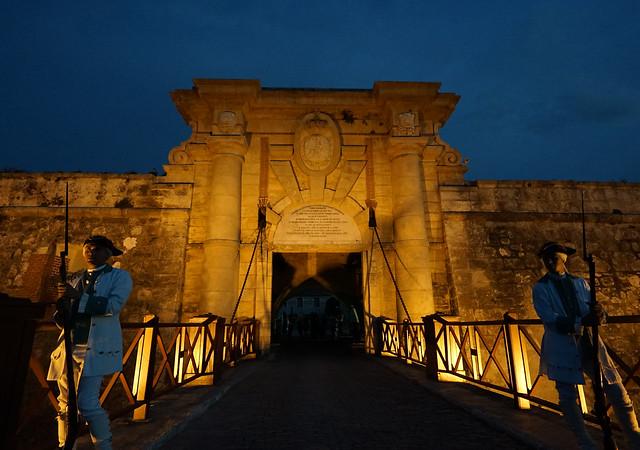 Entrada del Fortaleza de San Carlos de La Cabaña