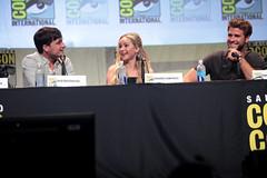 Josh Hutcherson, Jennifer Lawrence & Liam Hemsworth