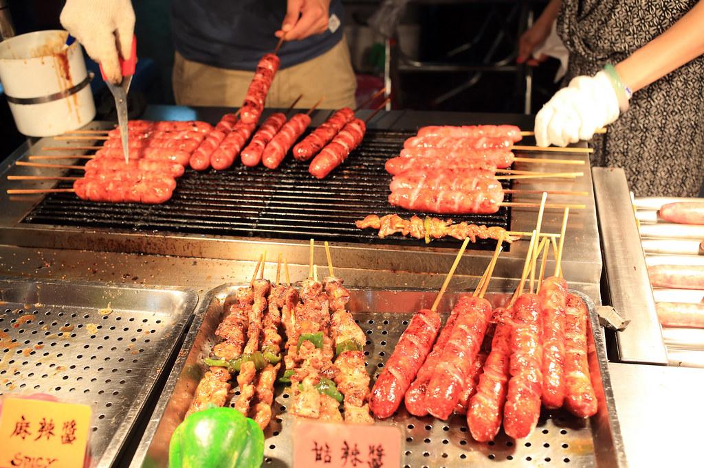 20150723萬華-山豬王香腸、肉串 (4)