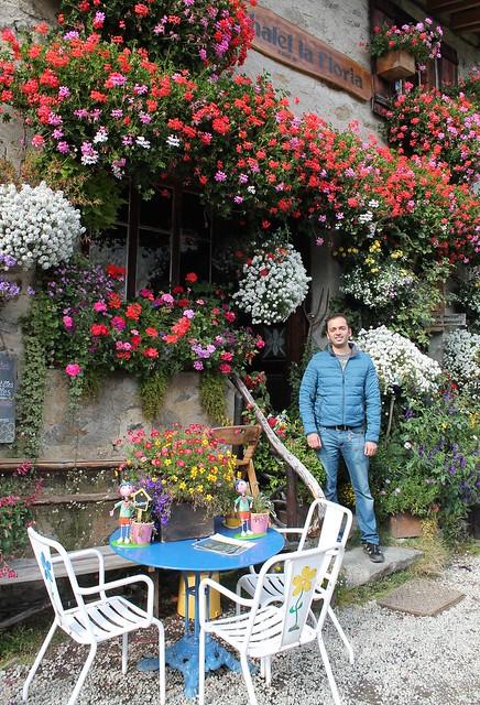 zaid at chalet la floria france