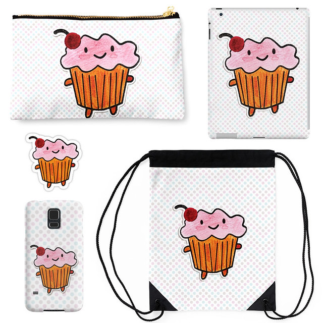 Cakeify in Watercolours at Redbubble