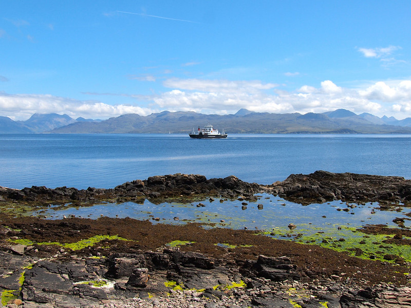 Ferry from Armadale to Mallaig, Scotland