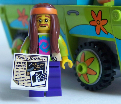 LEGO hippy minifigure