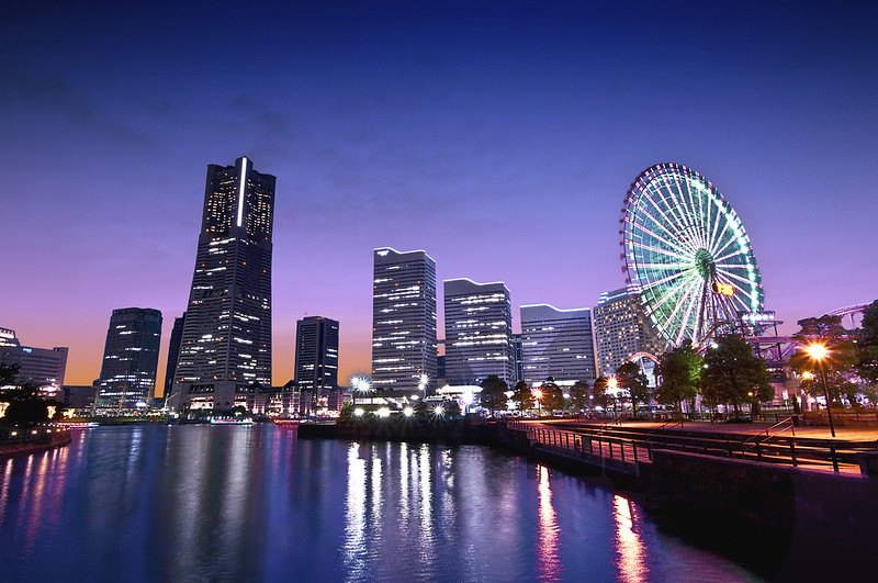 Twighlight Yokohama by Hideo via Flickr Creative Commons Licence