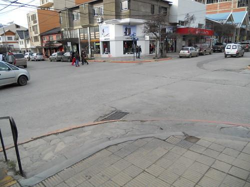 As faixas de pedestre esquecidas - Argentina (Bariloche)