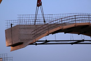Cantiere Parco Ottavi - Varo del ponte ad archi