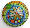 choose joy round mosaic