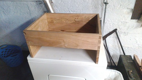 Dry fit carcase of the tool chest