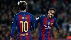 Neymar, Messi'yi geçerek ilk kez zirvede yer aldı