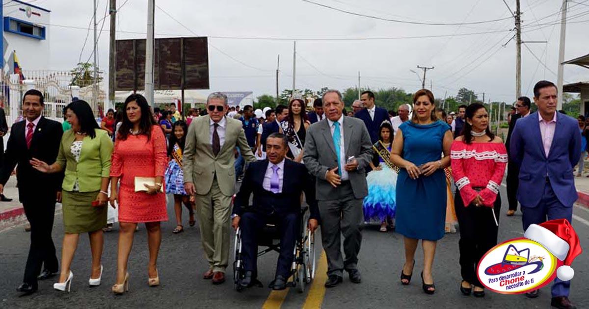 San Antonio celebró 72 años de parroquialización